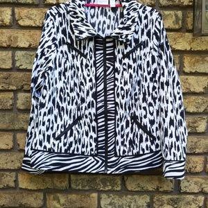 Zenergy leopard jacket sz 2 (12)